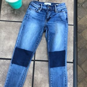 Pacsun patched knee jeans